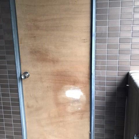 木製ドアリペア 補修 パテ