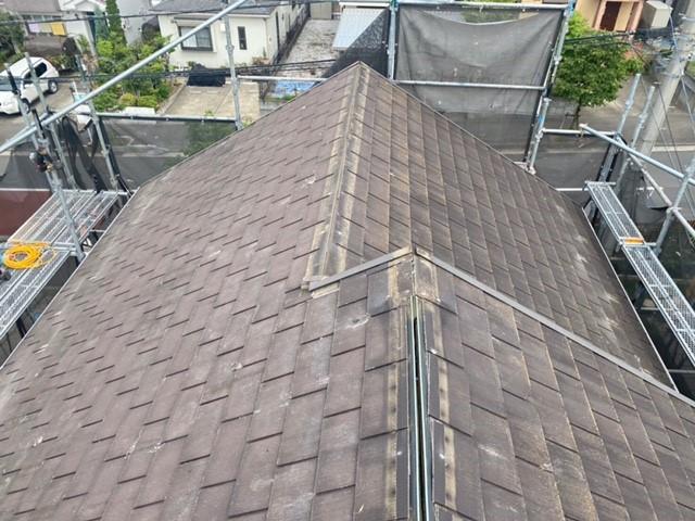 屋根上葺き工事