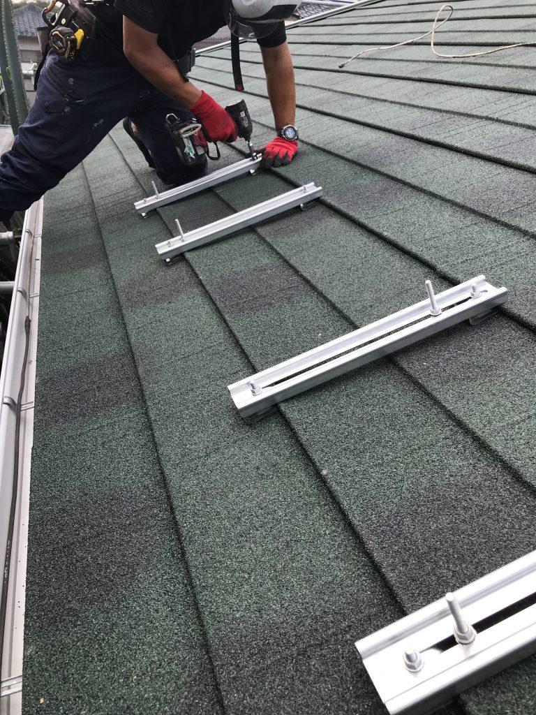 屋根上葺き&ソーラーパネル脱着 工程 費用 工期